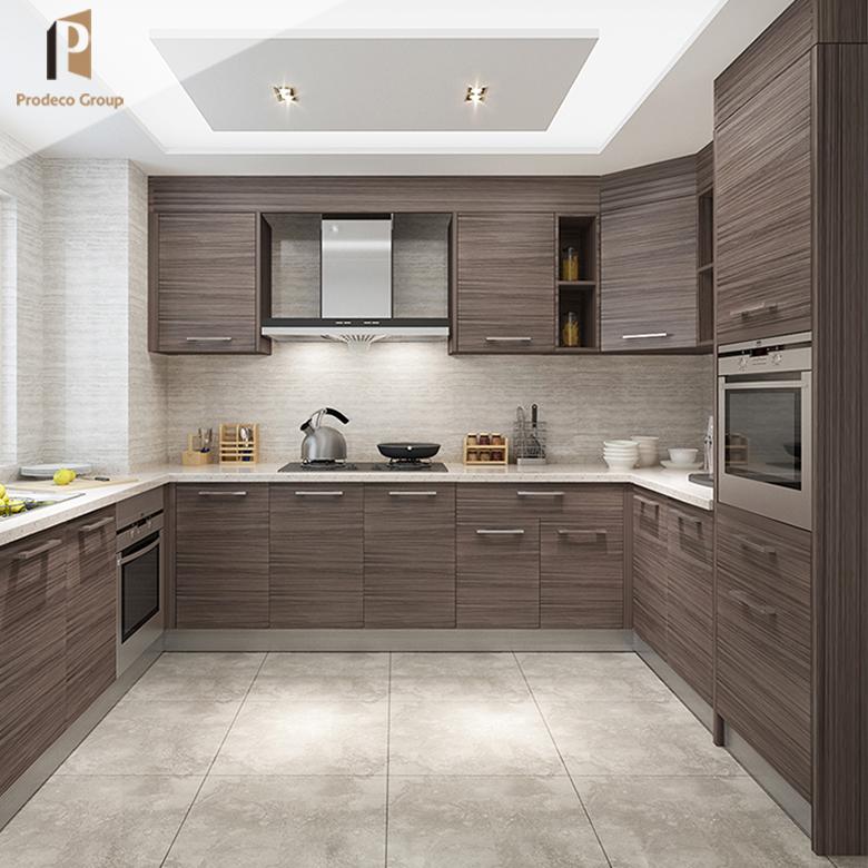 Kualitas Tinggi Baru Model Sederhana Desain Lemari Dapur untuk Dapur Furniture