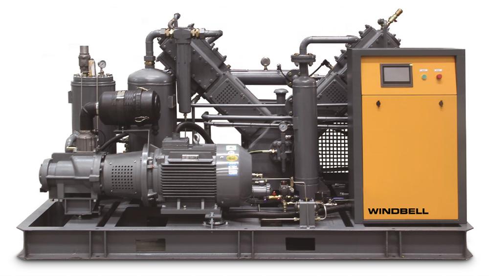 Air Compressing Machine 30 Bar Piston Air Compressor