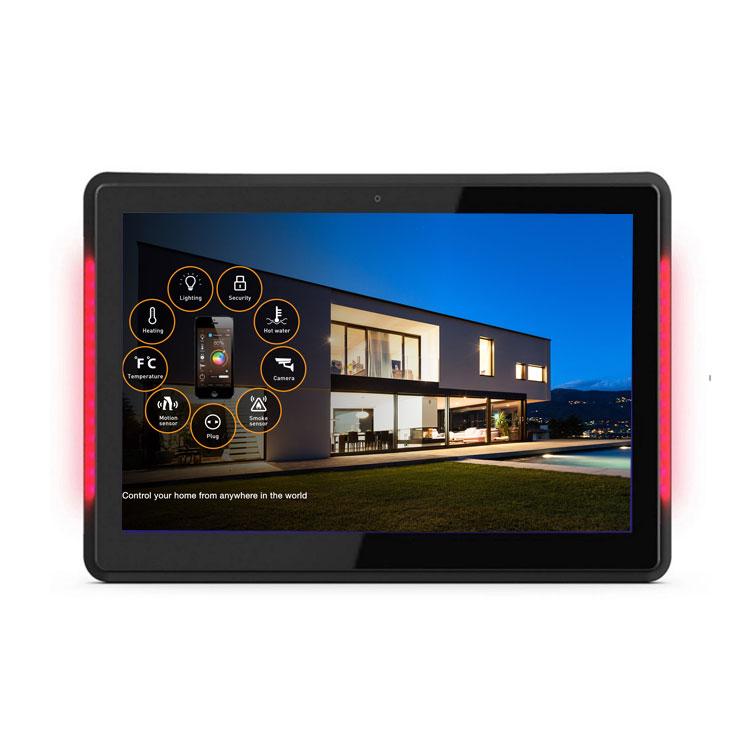 Dinding Mount 8.1 POE Layar Sentuh Meja Tablet PC 10 Inch dan NFC dengan RJ45 untuk Konferensi Ruang Rapat
