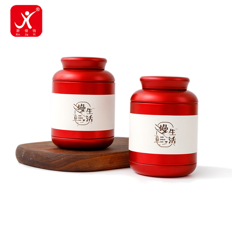 New Design Hot Sale China Factory Colored Metal Candle Tin Box