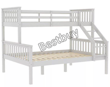 Triple Stapelbed Effen Bed Double & Single Stapelbed Frame Hoge Sleeper Kinderen Kids-BB-1351C