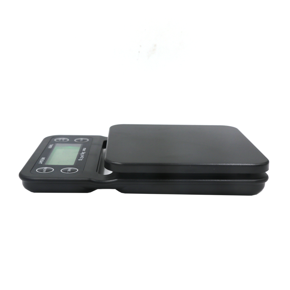 3kg 0.1g Digital LCD Coffee Scale With Timer Electronic Kitchen Food Scale With Tare Function