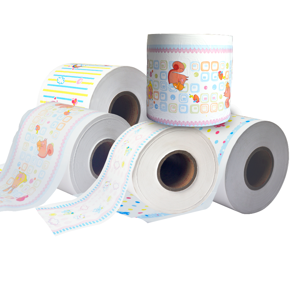 Baby diaper used breathable film