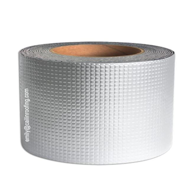 XUNGENG Cinta impermeable m/ágica goma butilo,l/ámina de aluminio impermeable cinta sellante,Sellador techo a prueba,para fugas,Uso en interiores o exteriores,La reparaci/ón de techos,etc 10cm/×10m
