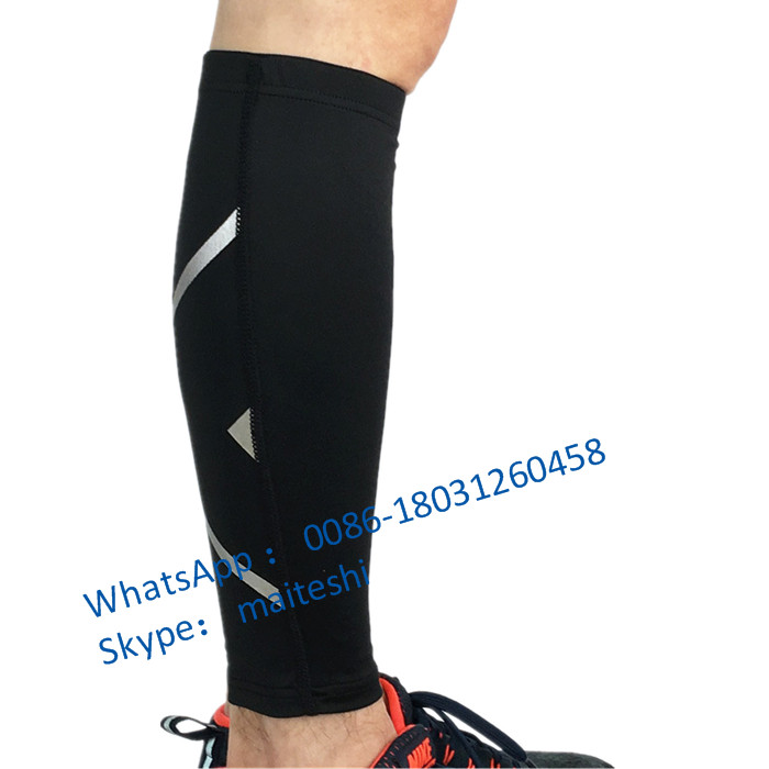 Wholesale hot selling sports basketball calf support Leg guard, calf compression sleeves leg support