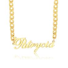 Vnox именное ожерелье персонализированные Индивидуальные женские и мужские милые подарки вечерние ювелирные изделия(Китай)