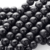 Precious natural Matte black onyxl lettering beads fashion jewelry accessories