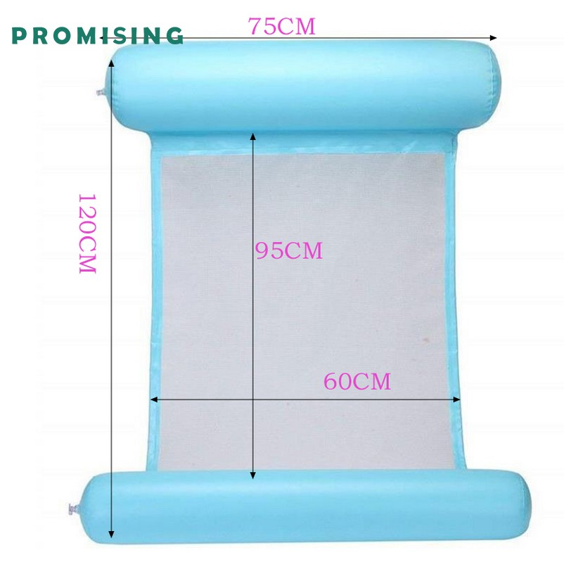 wholesale Outdoor inflatable floating island Bed Air Lounger Float Mat Sleeping Pad Beach Mattress Swimming Pool