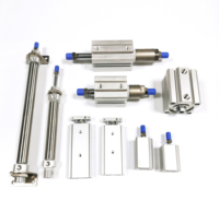 Face mask machine cylinder ACQ20*20SB ACQJseries HLH series TR series MI series pneumatic air cylinders mhz2