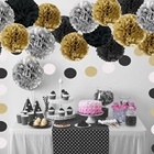 Party Decoration Paper Pom Poms Set Party Decoration Baby Shower Wedding Bachelorette Birthday Party Supplies