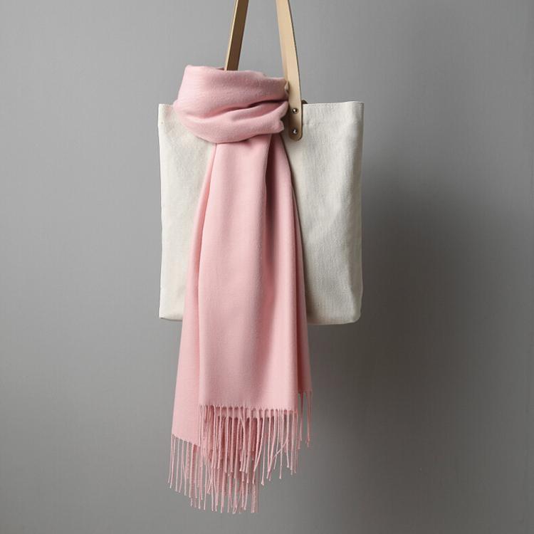 2018 Design High Quality Winter Warm Women's Knitted Fashion Tassels Cashmere Scarves Shawl