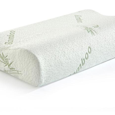 Inserto de almohadillas de espuma viscoelástica de tela de bambú y algodón, venta al por mayor, almohada de viaje para hotel, almohada para Bebé y Niño con cuello en U