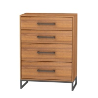 Novelty antique furniture 4-drawer chest of drawers of bedroom wooden
