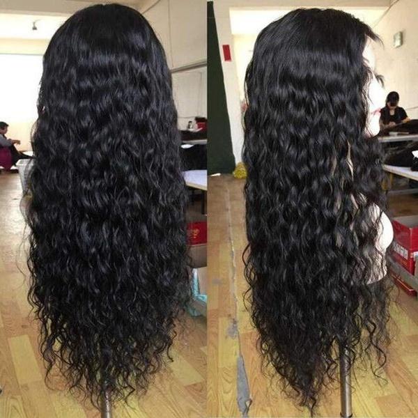 Dengan Harga Murah Renda Sintetis Wig dengan Bayi Rambut Sintetis Murah Renda Depan Wig dengan Bayi Rambut Lurus Wig Rambut Bayi