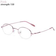 Очки для близорукости для мужчин и женщин, металлическая полуоправа, близорукие очки, диоптрия-1-1,5-2-2,5-3-3,5-4-4,5-5-5,5-6, 1 шт.(Китай)