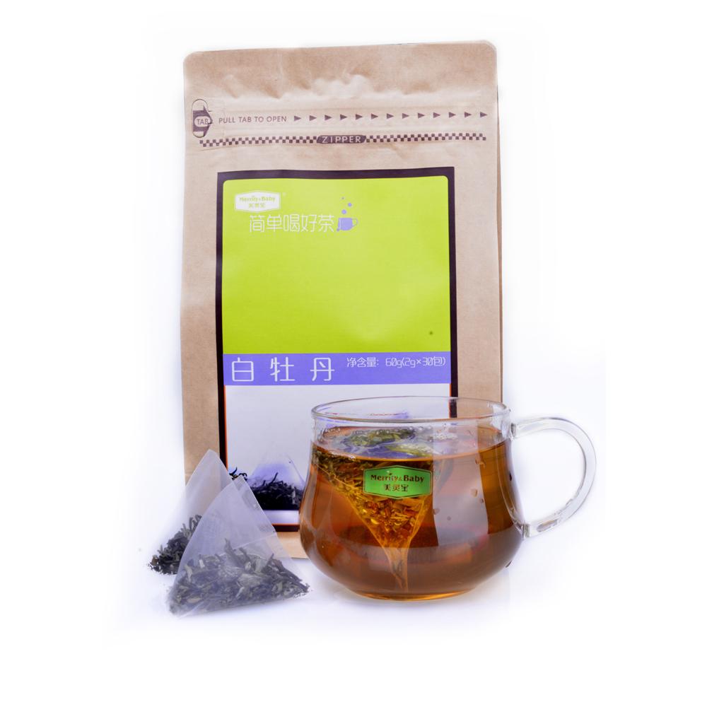 Free Sample OEM Organic White Peony Tea Slimming Chinese Pai Mu Dan White Tea - 4uTea   4uTea.com
