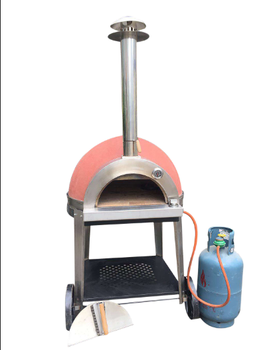 gas conveyer pizza oven for clay natural gas pizza oven