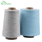 100% recycled cotton polyester blended yarn for weaving and knitting