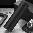 24 Hrs Heat Insulated Double Wall Vacuum Flask Thermos Coffee 17oz Stainless Steel Water Bottle With Tea & Coffee Filter