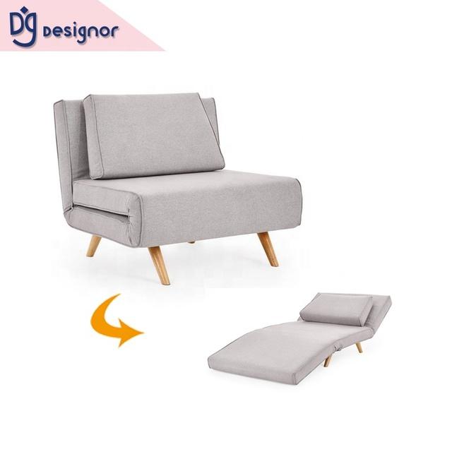 Foam Single Sofa Bed Chair Futon