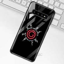 Чехол Наруто маркер для samsung Galaxy S10 S10e S9 S8 Plus A70 A50 A30 Note 9 10 + 5G закаленное стекло чехол для телефона(Китай)