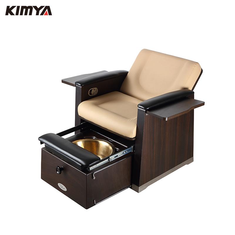 Kimya стул для педикюра без трубы/стул для педикюра и педикюра/коричневый стул для педикюра