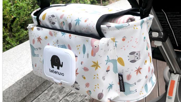 Unisex Design Filz Mutter Pflege Veranstalter Hängen Baby Windel Tasche