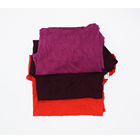 Fabric wipe printer cleaning cloth dark mixed color used industrial wiping cotton t shirts rags