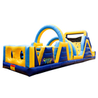 High quality PVC tarp material inflatable obstacle inflatable games inflatable obstacle course for kids and adults