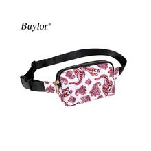 Buylor талии кошелек для женщин модная поясная сумка Горячая набедренная сумка, сумка на пояс, сумка-мешок, Водонепроницаемый поясная сумка че...(Китай)