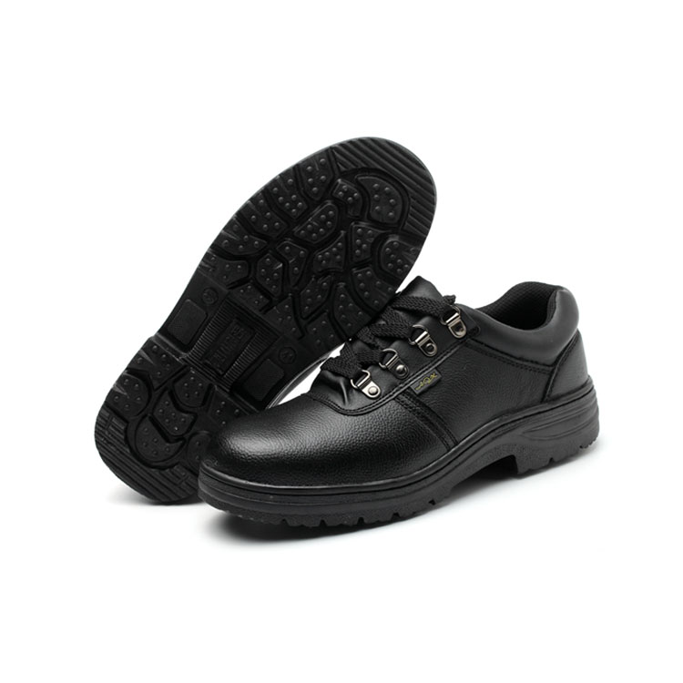 safty shoes factory steel toe leather worker shoes