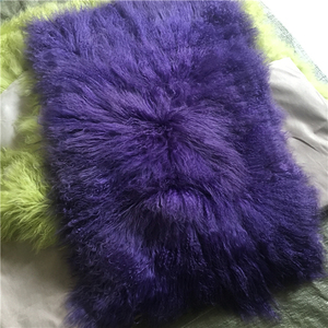 Sheepskin fur rug soft wool carpet