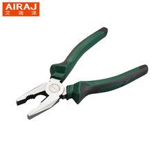 Многофункциональные плоскогубцы AIRAJ с изогнутой ручкой, 6/8 дюйма, хромированная ванадиевая сталь, высокопрочный инструмент для зачистки пр...()