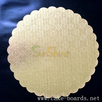 Wedding Flower Shaped 8 Inch Cake Boards And Boxes