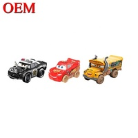 Custom Plastic Disny Push Pull Back Friction Power Automobile Toy Car