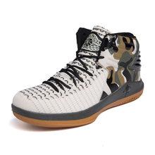 Мужская баскетбольная обувь Дженнифер Джорданс с воздушной подушкой Мужские дышащие противоскользящие спортивные кроссовки Ботильоны Ул...(Китай)