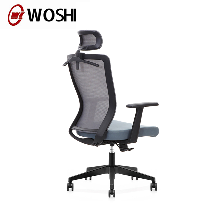 modern korean style heated executive  black mesh swivel lift desk chair simple office chairs wholesale