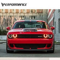 Front body kit for challenger Normal facelift to SRT HellCat design 2015+Year