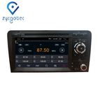 ZYCGOTEC 7inch DVD Android 9.0 Car 2 Din for Audi A3 S3 2003-2013 Car GPS Radio Stereo DSP Player