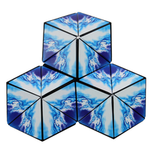 Speelgoed Voor Kinderen 2020 Novelty Cool Folding Classic Verwisselbare Euclid <span class=keywords><strong>Magnetische</strong></span> Magic Puzzel Cube