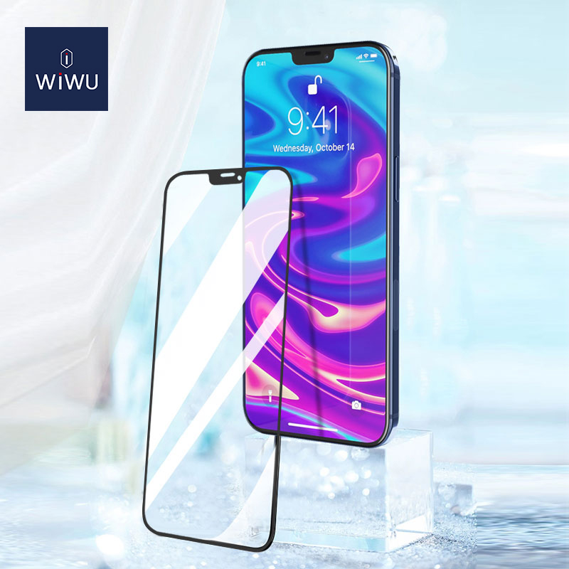 WiWU 2.5D 窄边 丝印 钢化膜 iPhone12 (https://www.wiwu.net.cn/) 手机 壳 膜 第3张