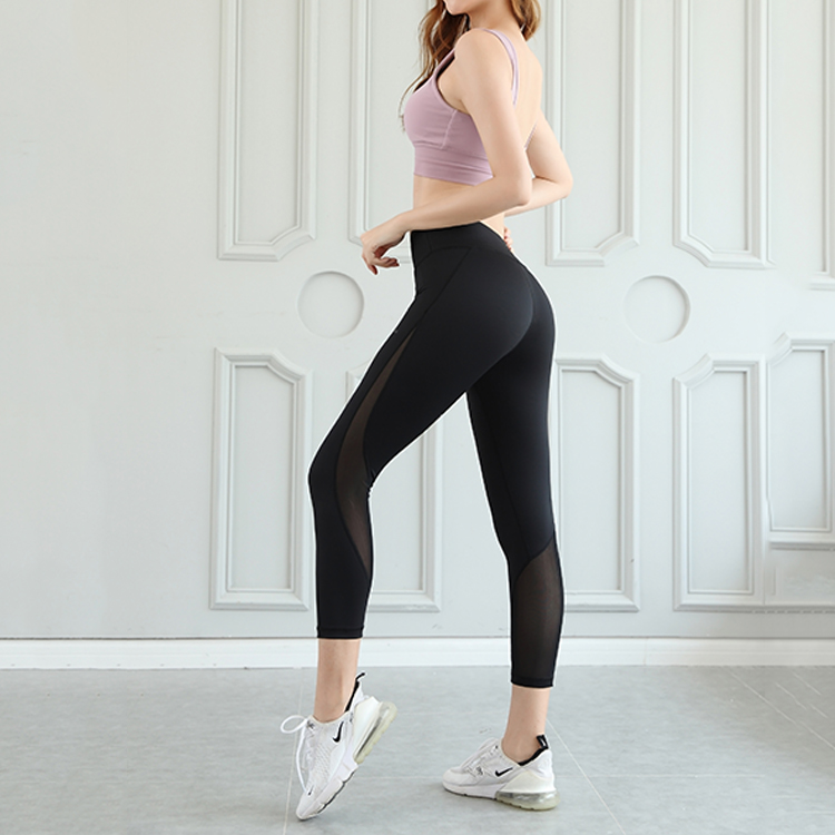 2020 High Quality High Rise Seamless Leggings Yoga Sexy Girls Workout Plus Size Yoga Leggings