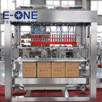 Pick up and Place Bottle Carton Box Packing Machine, Automatic Case Packer for Bottles Cans