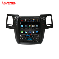 Hot Sale Factory Price Car DVD Player With Mobile Phone Connection For Toyota Old Fortuner 2004-2016 Hilux