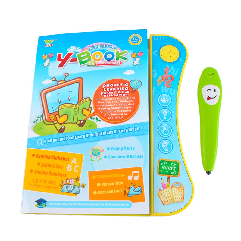 Electric Grow Up Children Education Toy Audio English Talking Pen Book