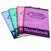 High quality PP cover exercise school writing cheap student note book