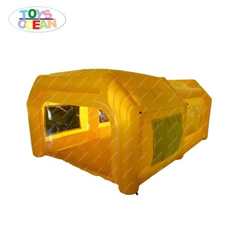 portable spray paint booth inflatable paint booth car