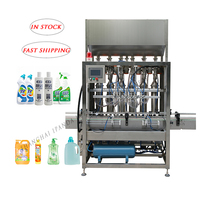 Automatic Liquid Soap Hand Wash Hand Soap Shower Gel Filling Machine