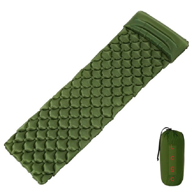 TPU Coating Air Pad Camping Self Inflate Mat Sleeping Pad