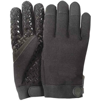 General Utility Light Duty Work Anti Vibration Enhanced Grip Silicon Printing Car Parts Handling Automotive Gloves